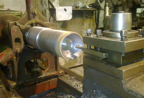 Метод обработки для изготовления специальной гайки 125