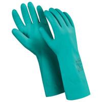 """Перчатки нитриловые MANIPULA """"Дизель"""", хлопчатобумажное напыление, размер 7"""