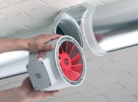 Вентилятор канальный накладной, установка и подключение